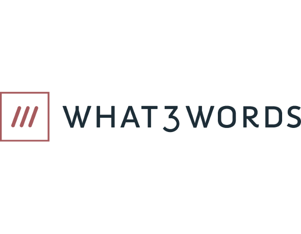 Powered by what3words